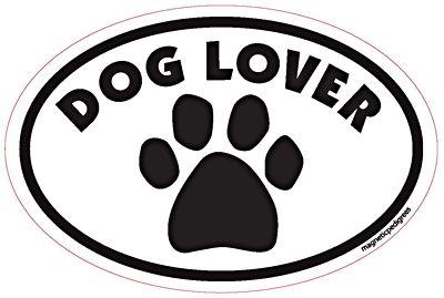 Ferret Mom Oval Euro Style Car Dog Magnet
