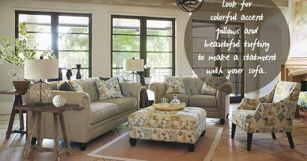 Ashley furniture living room pinterest comedores for Comedores ashley