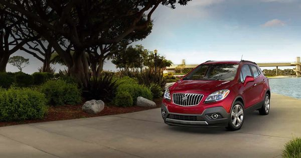 2014 Encore Luxury Small Crossover Small Suv Buick Buick Encore