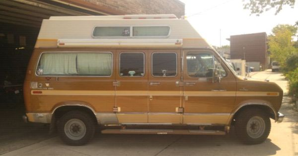 1975 Ford Econoline 250 Camper Van For Sale In Toronto On Van