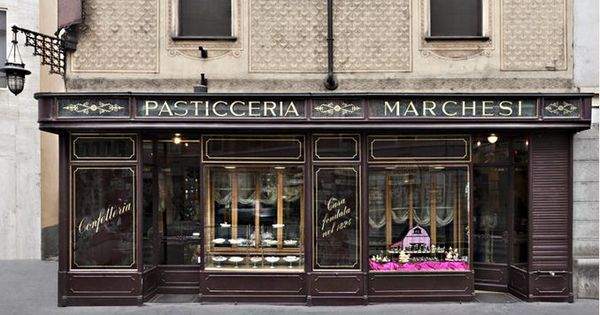 Passticceria marchessi milano since 1897 designer for Bar maison torino