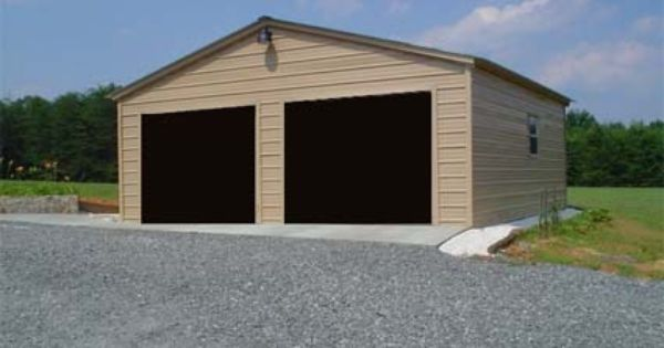26 X 31 X 10 Vertical Roof Eco Friendly Steel Carport Garage Installation Included Garage Installation Carport Garage Enclosed Carport