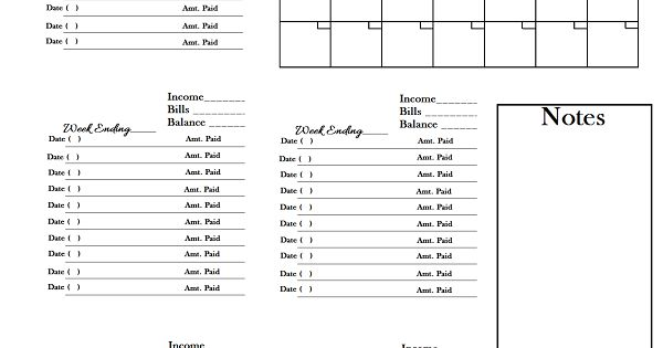 worksheet to keep track of paid monthly bills do it. Black Bedroom Furniture Sets. Home Design Ideas
