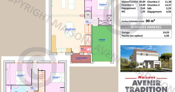 Gingembre Maisons Avenir Tradition - Site officiel plans Pinterest