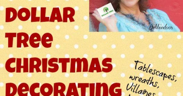 101 dollar tree Christmas ideas