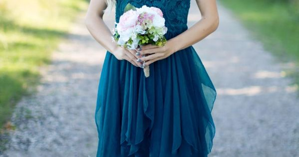 Country Bridesmaid Dresses 2017 Short Hot Cheap For