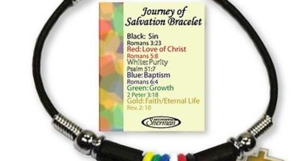 salvation bracelet printable these are the neatest salvation bracelets that i seen 9586