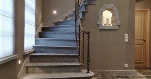 Pin van tanja wiersma op hal entree tanja pinterest trappen vloeren en voor trappen - Schilderen voor entree en hal ...