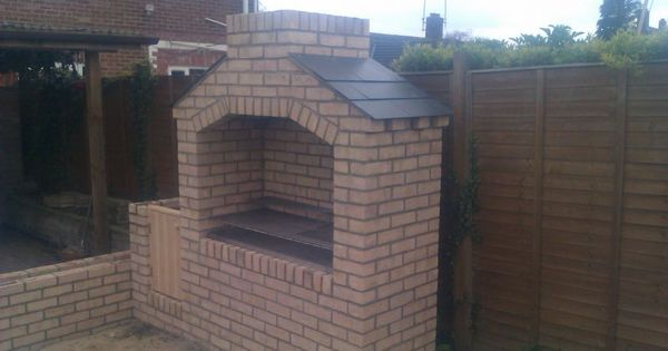 Brick bbq for Brick garden room designs