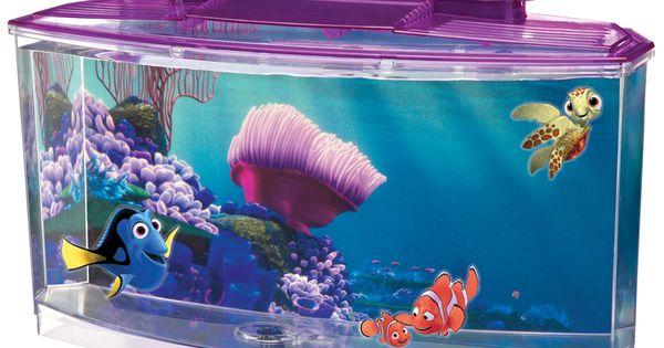 Penn plax finding nemo betta aquarium kit products i for Nemo light fish