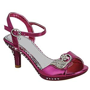 girls purple pumps