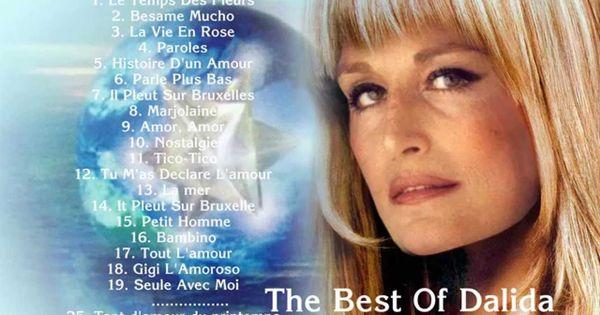 Dalida songs lyrics