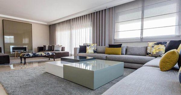 Am nagement d 39 un appartement salon marocain moderne et for Decoratrice interieur