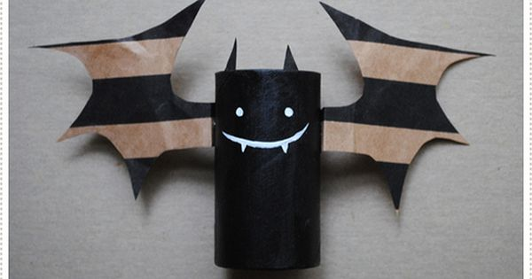 Halloween crafts for kids - 15 upcycled toilet paper rolls ideas