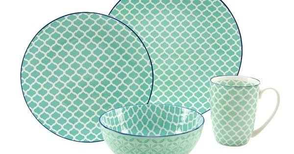 Sie Erhalten Hier Ein Aussergewohnliches 4 Teiliges Single Set Diese Besondere Zusammenstellung Fur Den Kleineren Haus Geschirrset Geschirr Creatable Geschirr