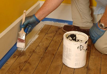 How To Paint Wood Floors For Dummies Home Pinterest