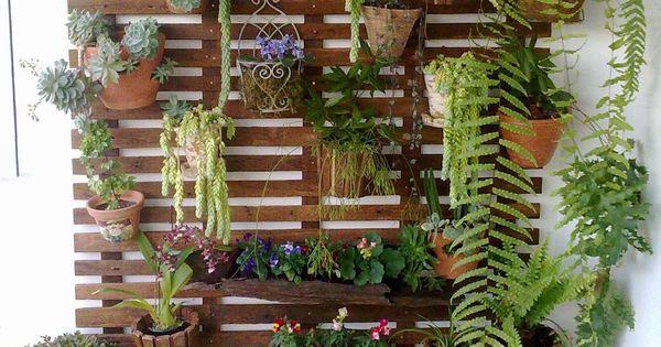 Pallets Vertical Succulent Garden Plants Succulent
