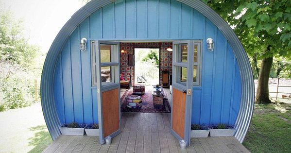 Best Cabin/Summerhouse: Cabin HabitThis quirky and industrial style cabin owned by Abigail