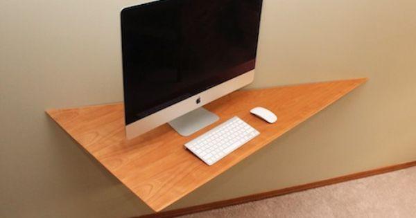 Project Denneler: Minimilast computer desk | Wood Shop: Office n Desk