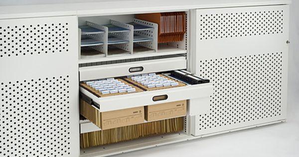 meuble de rangement dossier suspendus espace bureau bureatique pinterest rangement. Black Bedroom Furniture Sets. Home Design Ideas