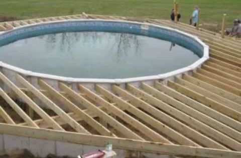 Above Ground Pool Deck Plans Youtube Pool Deck Pinterest Pool Deck Plans Deck Plans