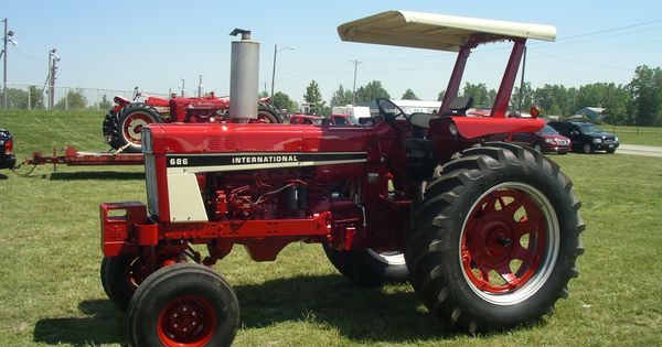 1086 Ih Plowing : Ih red power round up lima oh pinterest