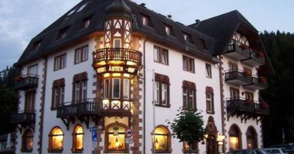 Hotel Neustadter Hof House Styles Black Forest Germany