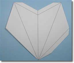 star lantern template  Make a Paper Star Lantern - Printable Template and ...