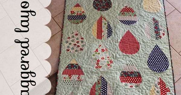 Moda Bake Shop: Baby Showers Quilt Free pattern by LeAnne Ballard made with April Showers fabric ...