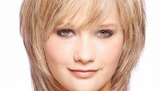 Short Layered Haircuts For Fat Faces 91