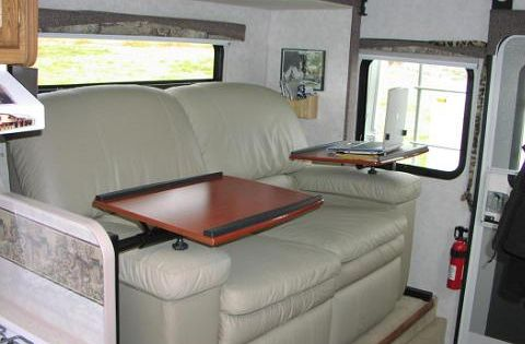Rv Replacement Furniture Dinette Replaced By Lazyboy