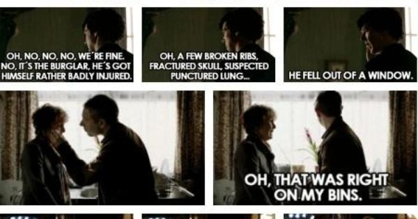 Sherlock Holmes, Lestrade's least irritating officer is Lestrade.