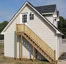 Best Eagle Ridge 2 Story Garage With Outside Stairs For The 400 x 300
