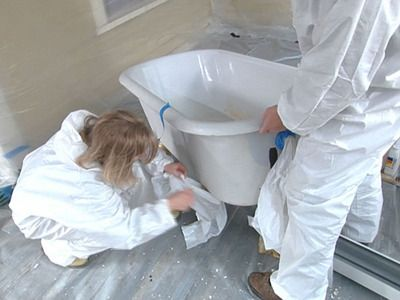 How To Reglaze A Clawfoot Tub Tub Refinishing Tub Cast Iron Tub