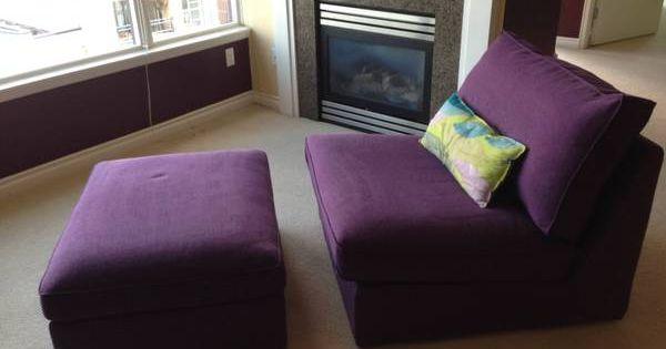 Ikea lounge chair storage ottoman office decor pinterest ikea lounge and lounge chairs - Ikea hack storage ottoman ...