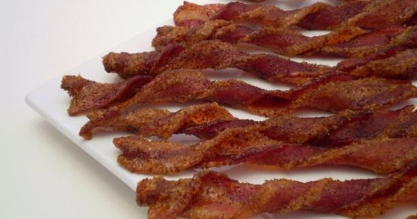 spicy candied bacon spicy candied bacon coated sweet and spicy nutella ...
