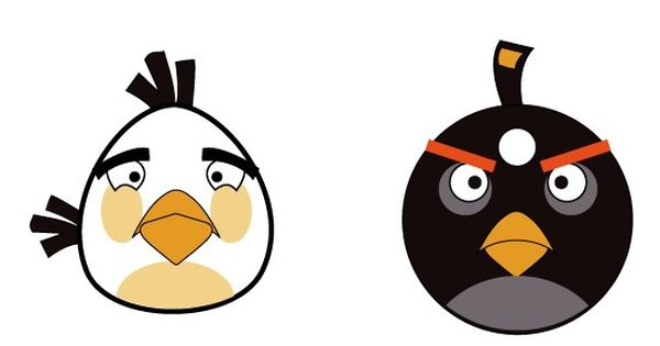 Angry Animals Google Search: Angry Birds Face Clipart - Google Search