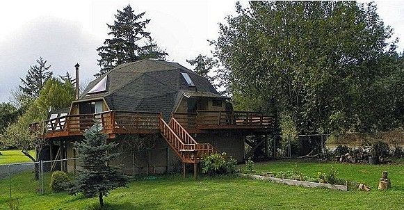 Think Outside The Box Dome Homes For Sale Zillow Blog Domes Pinterest Spaces Decking