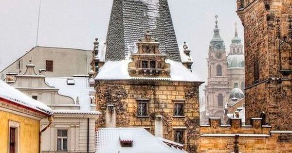 Winter In Prague Only The Most Beautiful Place In The World Travel In Winter Pinterest
