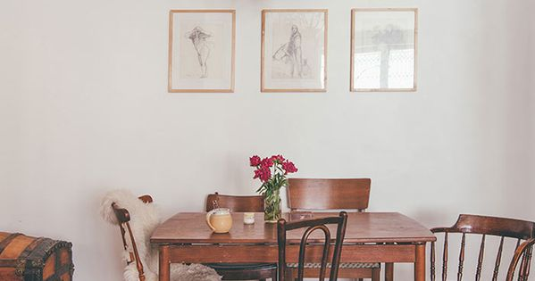 This painter s baltimore home embodies vintage ease design sponge apartment interiors - Design interior home with ease ...