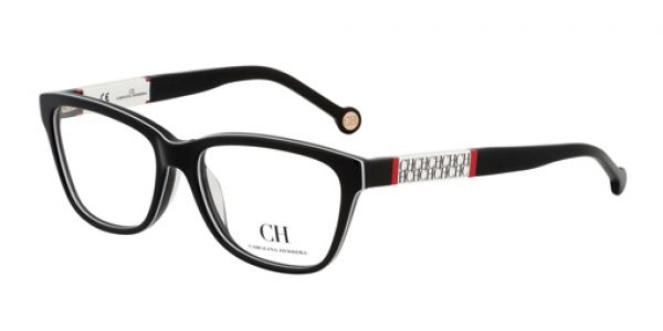 Carolina Herrera Vhe555 Black And White 09h9 Carolina Herrera Perfume Glasses Prescription Glasses