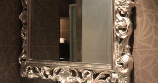 Id e d co salle de bain tendance baroque http www - Deco couloir baroque ...