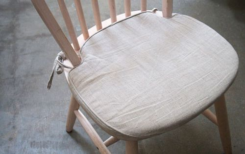 Kitchen Chair Seat Cushion Covers: KITCHEN CHAIR CUSHIONS - DIY