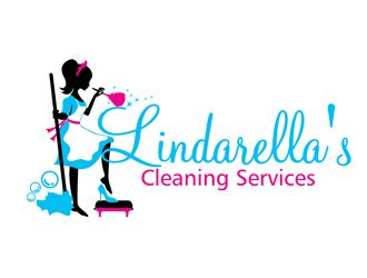 Lindarella S Cleaning Services Logo Design Cleaning Service Logo Cleaning Logo Business Cleaning Service