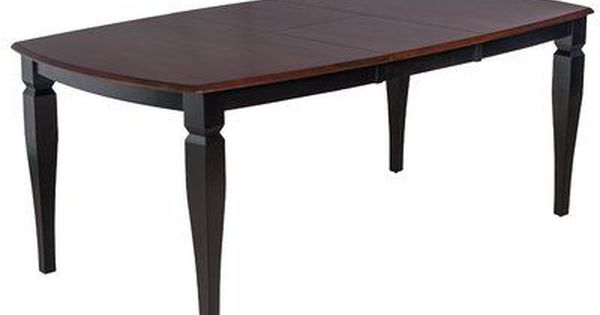 Ttp Furnish Victoria Extendable Solid Wood Dining Table Solid