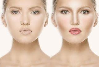 يوجد كما هو معروف عدة اشكال من الانوف منها الطويل ومنها العريض ومنها الافطس الخ بما انه عمليات التجميل Facial Contouring Face Contouring Contour Makeup