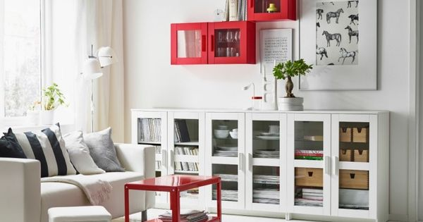 wohnzimmer modern einrichten kallax regale mit glast ren expedit kallax pinterest ikea. Black Bedroom Furniture Sets. Home Design Ideas