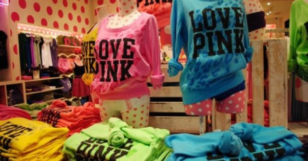 Pink The Store Shirts