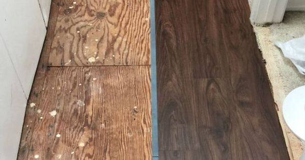 Our Hall Makeover With Vinyl Plank Flooring Funky Junk