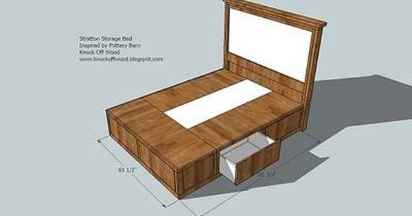 Classic Storage Bed Queen Diy Storage Bed Storage Bed Queen